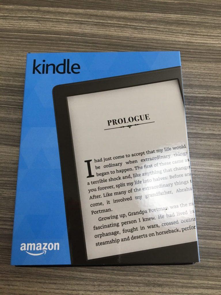 Amazonから届いたKindle
