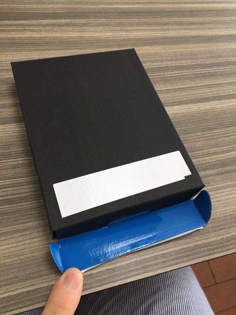 Kindleの中箱のフタが開いた!