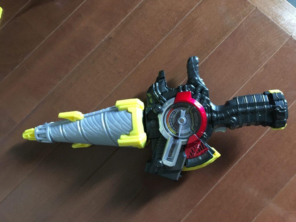 ドリル剣銃の剣スタイル(仮面ライダービルドなりきりセット)