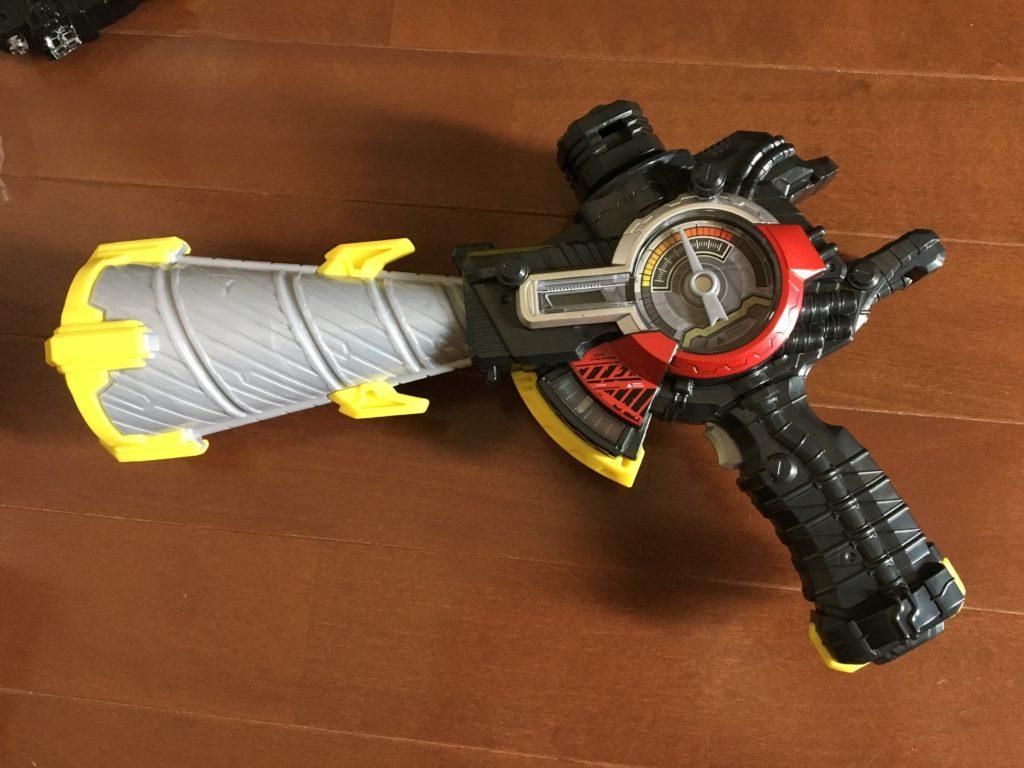 ドリル剣銃の銃スタイル(仮面ライダービルドなりきりセット)